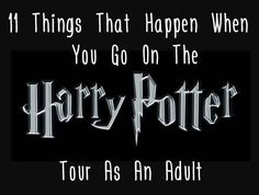 11 Things That Happen When You Go On The Harry Potter Studio Tour As An Adult- Let's take a sisters trip here when my kids are older @jessicamiller!