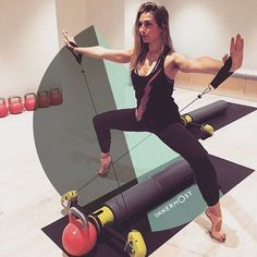 "#innermostpeople. Time to flex it out with Pascale... . ""I was born in Corsica and lucky to grow up in the sun in a place where a healthy #diet and #fitness were a natural way of #life. #Dance was my first passion and after training as a #ballet and contemporary dancer, I came across #Pilates. The focus of Pilates is the mind-body awareness stemming from your #core, and how this helps in everyday life. It works on the body's alignment, improves #posture and is a tool to #rehab from…"