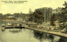Lake Quinsigamond And White City Worcester Massachusetts, All Things New, White City, Great Memories, New England, Boston, Spaces, Park, History