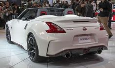 Nissan NISMO Roadster ConceptThe NISMO Roadster Concept is the first convertible to get th. Nissan 350z Roadster, Nissan Z Cars, Nissan Nismo, Jdm Cars, Bold And The Beautiful, Concept Cars, Cars And Motorcycles, Convertible, Trucks