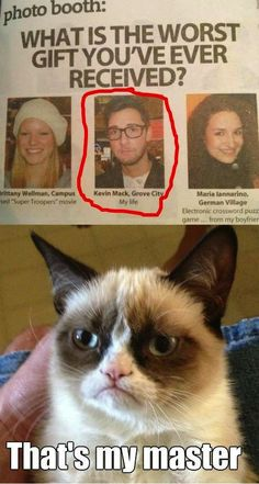 Grumpy Cat meme ...For more funny memes and hilariousness visit www.bestfunnyjokes4u.com/rofl-funny-pic-of-the-day-8/
