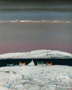 Dying Light, Loch Venachar by Gordon Wilson.