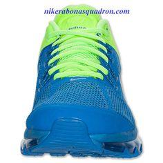 Nike Air Max 2013 Mens Prize Blue Reflective Silver Lime 554886 403 Nike  Air Max a25e37b04