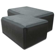Yoga Block 1 or 2 pack 4 in x 6 in x 9 in Larger Size High Quality 4 colors by Bean Products  BLACK ** Check out this great product. (This is an affiliate link)