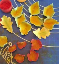 Tea, Cake & Create: Autumn Leaves Tutorial