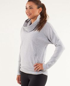 RUN: Rest Day Pullover - lulu lemon I'm So glad they made this again! One of my favorite LuLu pieces