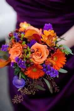 Fall wedding bouquet