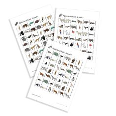 Cutting Strips úrovně 1 of the serie Zoo Animals. Animal House, Zoo Animals, Free Printables, Preschool, Photo Wall, Frame, Picture Frame, Photograph, Pet Store