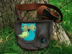We Give A Hoot Owl Bag by TreadLightGear on Etsy, $85.00