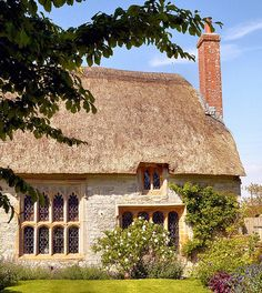 country home.The Priest's House, Muchelney.