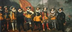 Lastman - Schutterij One of the 18 Civic Guard Paintings that originally hung in the Chambers of the Council of War in the former Town Hall of Amsterdam, now the Royal Palace Amsterdam.