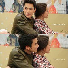 Love Ya, Super Star, Sweet Couple, Celebrity Couples, Couple Goals, Cute Couples, Thailand, Princess, Couple Photos