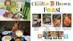 Want to have a Charlie Brown Thanksgiving Feast with your kid? Here's how! Hear about my adventures as a Husband, Dad, Cook, by following my blog: http://WritingPadDad.blogspot.com/