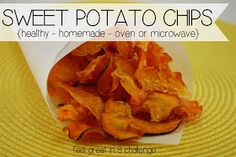 Feel Great In 8!: Sweet Potato Chips