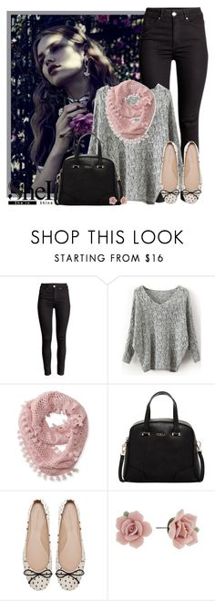"""""""Untitled #1450"""" by miushka ❤ liked on Polyvore featuring Aéropostale, Furla, Zara, 1928, women's clothing, women, female, woman, misses and juniors"""