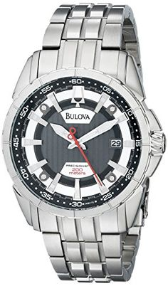 online shopping for Bulova Men's CAMPTON Sporty dress Watch from top store. See new offer for Bulova Men's CAMPTON Sporty dress Watch Mens Dress Watches, Watches For Men, Stainless Steel Bracelet, Stainless Steel Case, J Crew Men, Bulova, Watches Online, Casio Watch, Rolex Watches