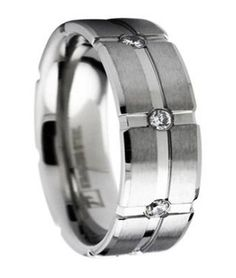 Men's Stainless Steel Wedding Ring