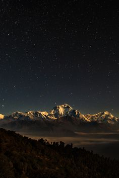 Himalaya Nightscape