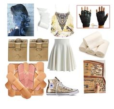 """Untitled #452"" by angelofadorability on Polyvore featuring Converse, Chicwish and Annina Vogel"