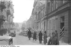 Damaged bulidings in Warsaw, Poland, Sep-Oct 1939, photo 6 of 8