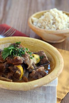 Moroccan Heart Stew: Beef muscle and heart meat slowly cooked with spices, lemons and apricots. | The Nourished CavemanThe Nourished Caveman