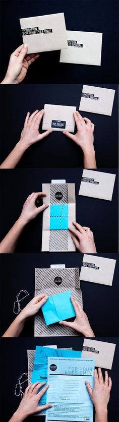 A Showcase of 50 Beautifully Designed Print Invitations To Inspire You – Design School