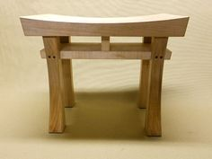 Made to Order Asian Style Stool Bench Seat Heaven In by Madsens, $145.00