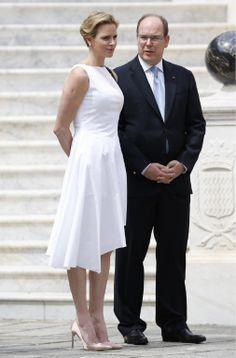 Albert en Charlène van Monaco.