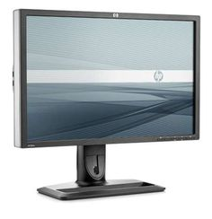 HP ZR24w LCD monitor.