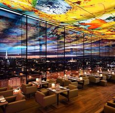 A living piece of artwork - The Sofitel Hotel, Vienna Stephansdom | #sofitel #roof #art #inspiration #style #sky #hotels #travel #vienna #architecture #design
