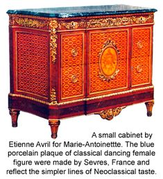 The age of Revivals: Neoclassical Furniture