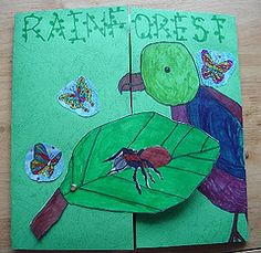 Jimmie makes a great lens on the rainforest. Books, art, lapbook, links and more. Enjoy.