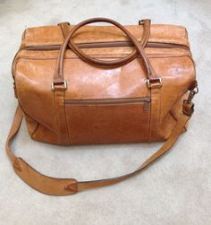 Vintage Hartmann 'Valise' Large Overnight Bag by socallrare