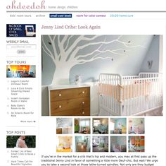 a classic :Jenny Lind Cribs