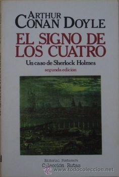 """Un libro estupendo para leer en vacaciones: """"El signo de los cuatro"""" de Arthur Conan Doyle."""