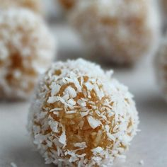 """Qumbe (East African Coconut Candy) I """"Pretty tasty and fairly easy to make. I might try toasting the coconut used for coating the outsides."""""""
