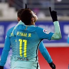 FC Barcelona @fcbarcelona:  @neymarjr