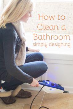 How to Clean a Bathroom