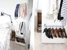 Space Savers: IKEA Hacks for Small ClosetsTeeny tiny closet got you down? After you've winnowed your clothes down to the essentials with our Closet Cure (of course), check out these nine clever ways to use IKEA products to squeeze out a little extra storage in your closet. → Read this post
