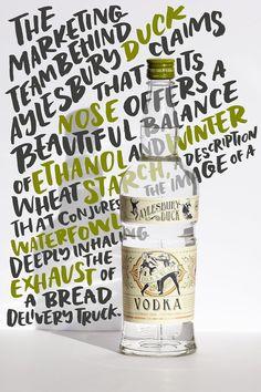 Author Amelia Gray's Misadventures With Aylesbury Duck Vodka