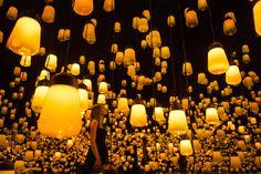Une forêt de mille lampes intelligentes à Maison & Objet | The Creators Project