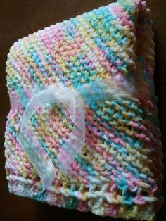 Plush Crib Blanket by BlanketsofBlessing on Etsy, $40.00