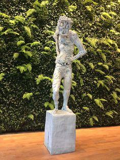 Thomas Houseago. Boy III, 2012. Painted bronze. SF