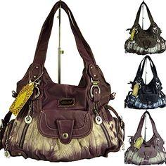 KUMIXI TP1103 Damen Handtasche für den Alltag, Batik, Leder Optik, 40 x 30 x 15 cm (purple dark) Kumixi http://www.amazon.de/dp/B00QDX74U2/ref=cm_sw_r_pi_dp_3-j5vb1JBBAZ5