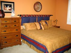 Custom Bedroom Furniture in Yellow Bedroom