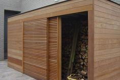 Garden Studio :: tuinbergingen :: - Lilly is Love Garden Studio, Pool House, Garden Storage, Pergola With Roof, Garden Design, Pergola Designs, Shed Design, Modern, House Exterior