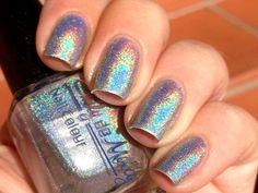 Nail polish Inevitable chrome silver linear by EmilydeMolly, $11.50