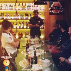 Degustação no Cerva & Cia foi um sucesso, nosso mestre cervejeiro Leonardo Rangel foi convidado para um bate papo sobre cervejas artesanais.