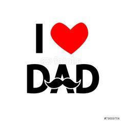 Vector: Feliz día del padre