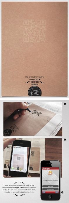 thought you may appreciate this gallo Innovative print ad for a tattoo artist. Graphic Design Branding, Ad Design, Packaging Design, Print Design, Guerilla Marketing, Marketing And Advertising, Print Advertising, Help Wanted Ads, Clever Advertising